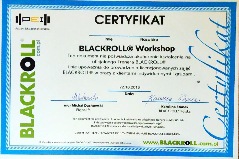 Warsztaty Z rolowania – Blackroll