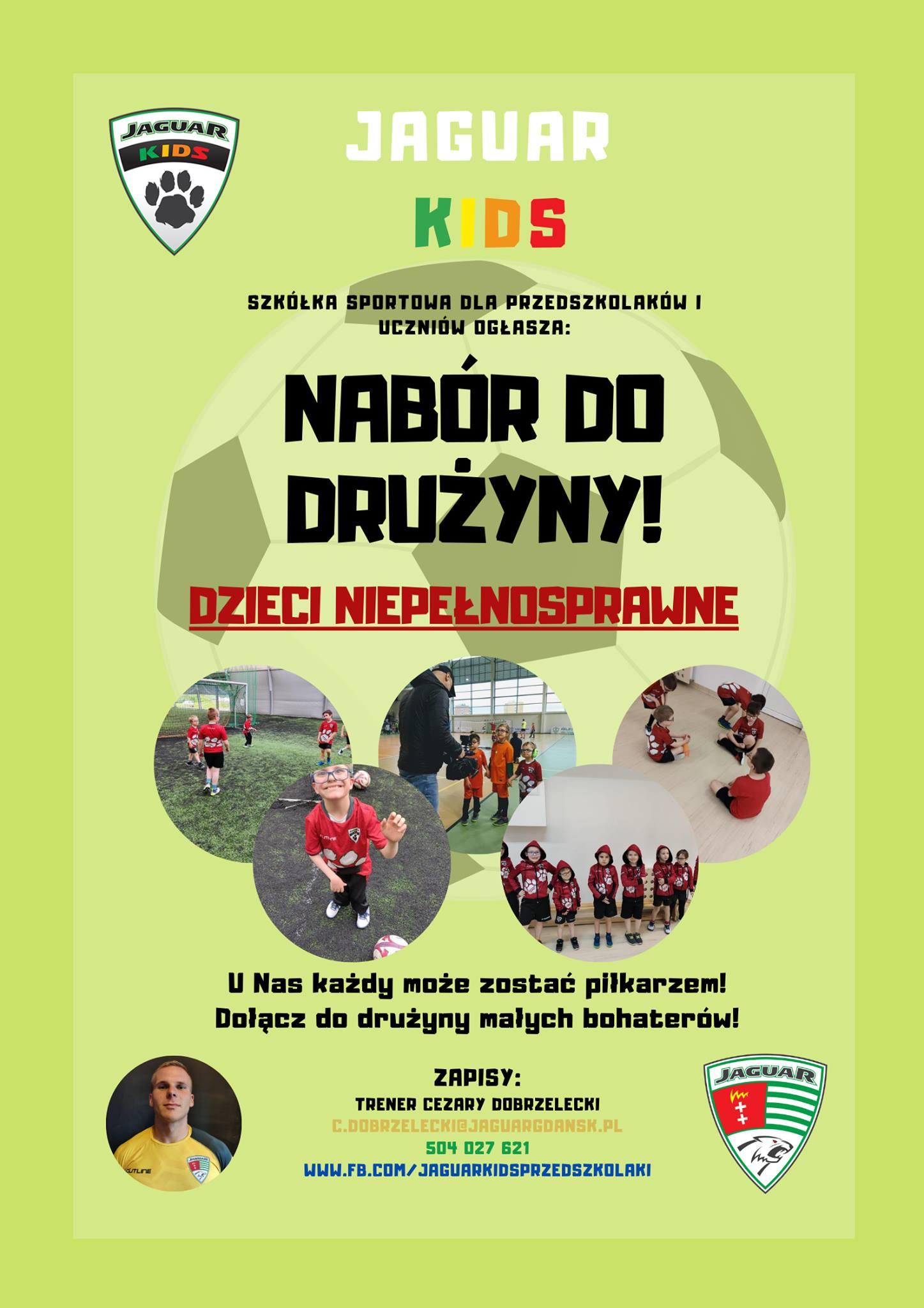 zajęcia sportowe dla dzieci niepełnosprawnych w Gdańsku