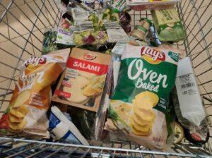 Niezdrowe jedzenie i nawyki żywieniowe