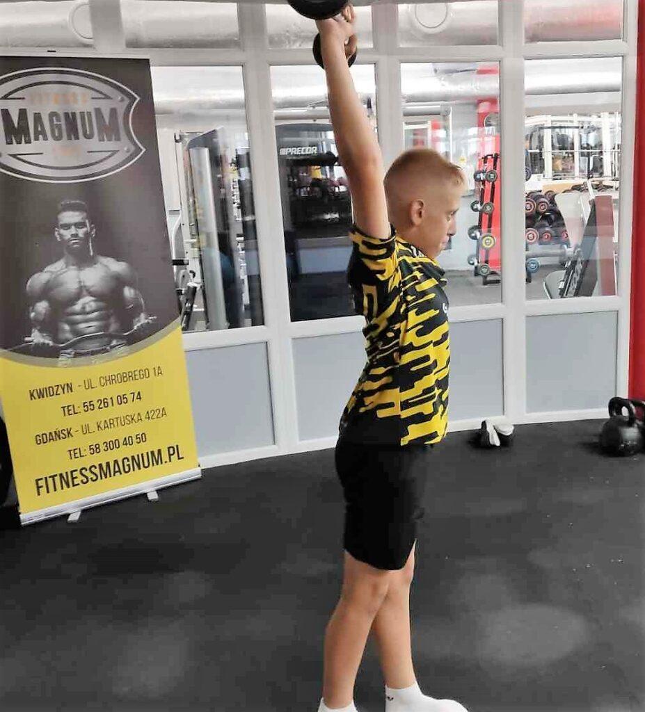 Motoryczny trening indywidualny dziecka sportowca
