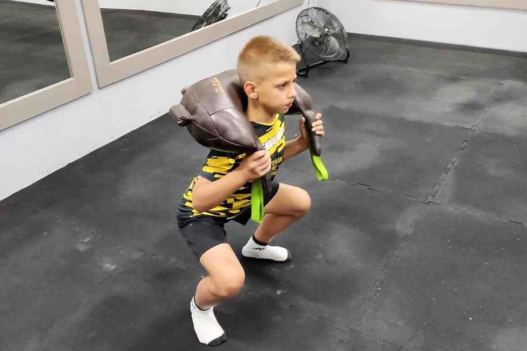 dzieci indywidualne zajęcia sportowe treningi