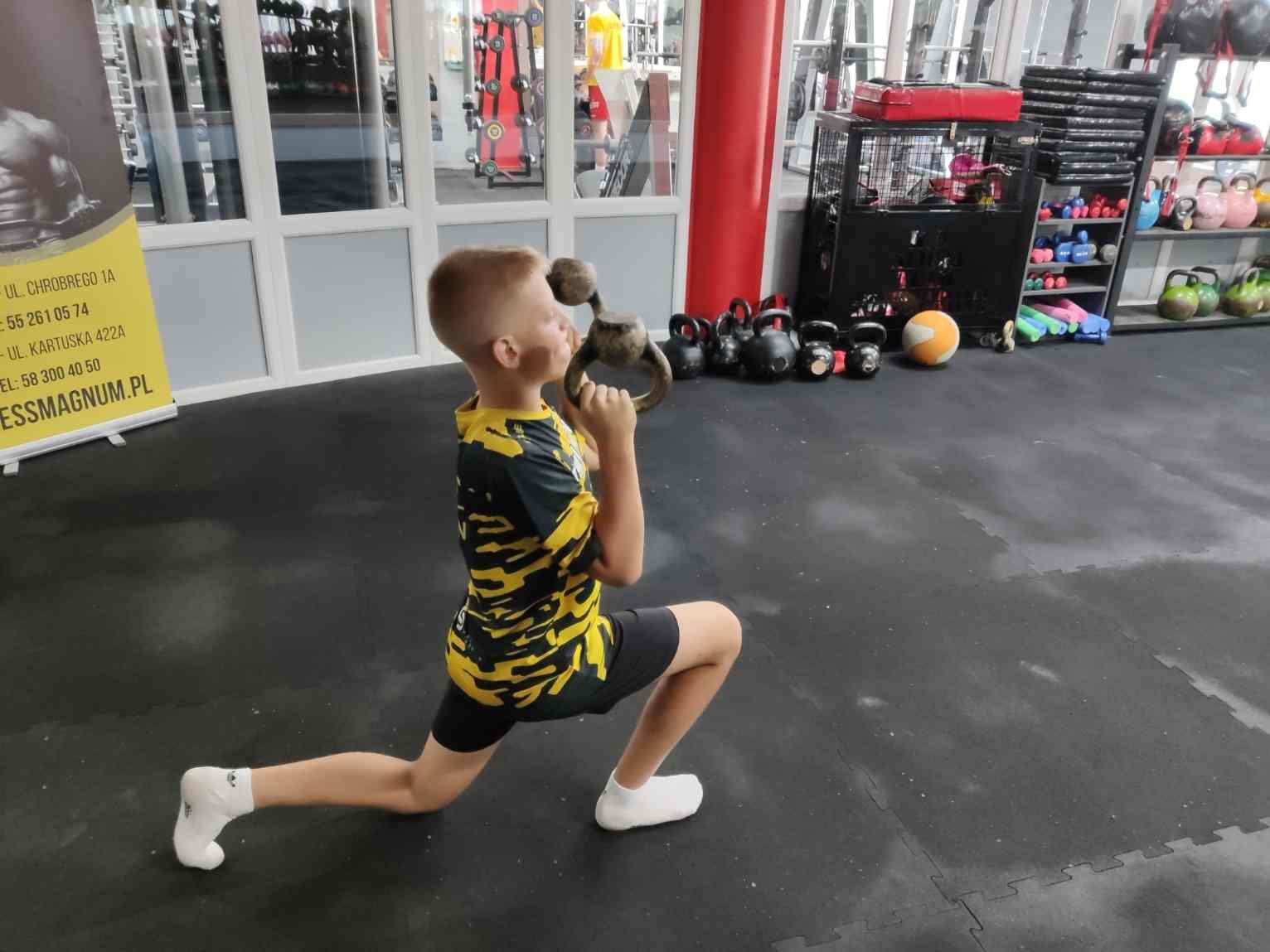 indywidualny trening w dzieckiem zajęcia sportowe Gdańsk