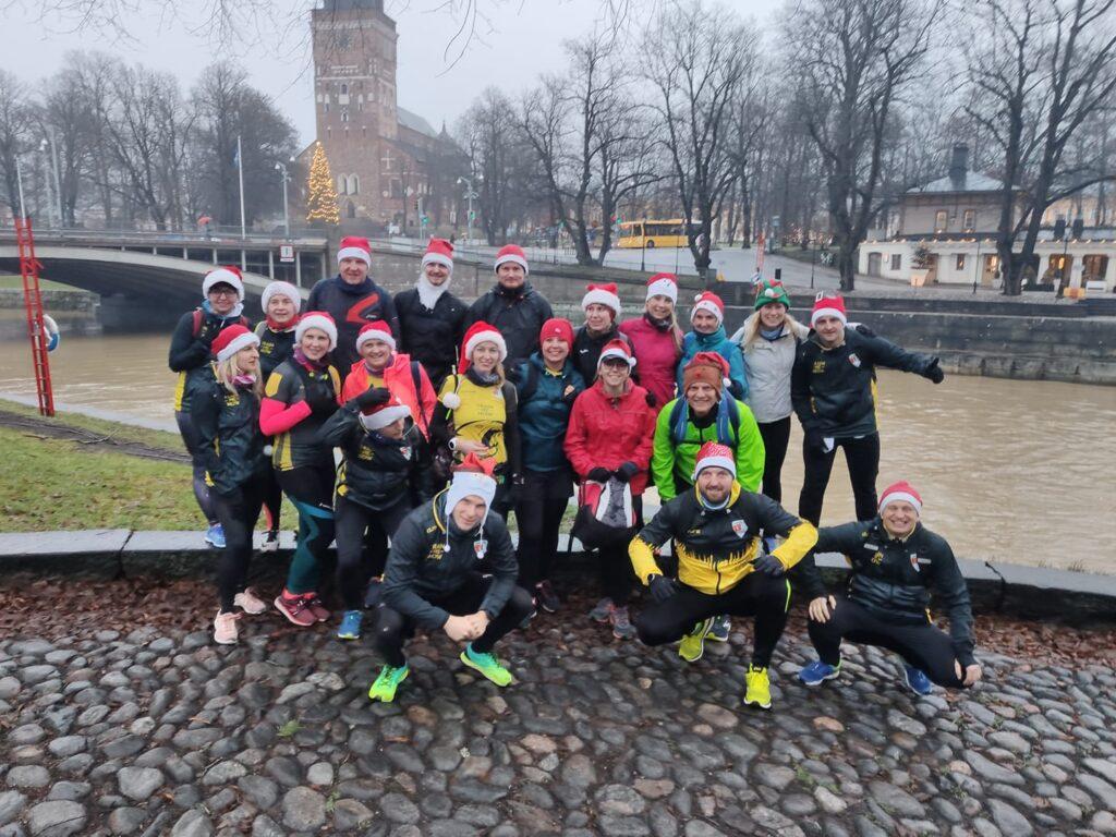 Wyzwanie bieg Mikołajkowy w Finlandii Turku
