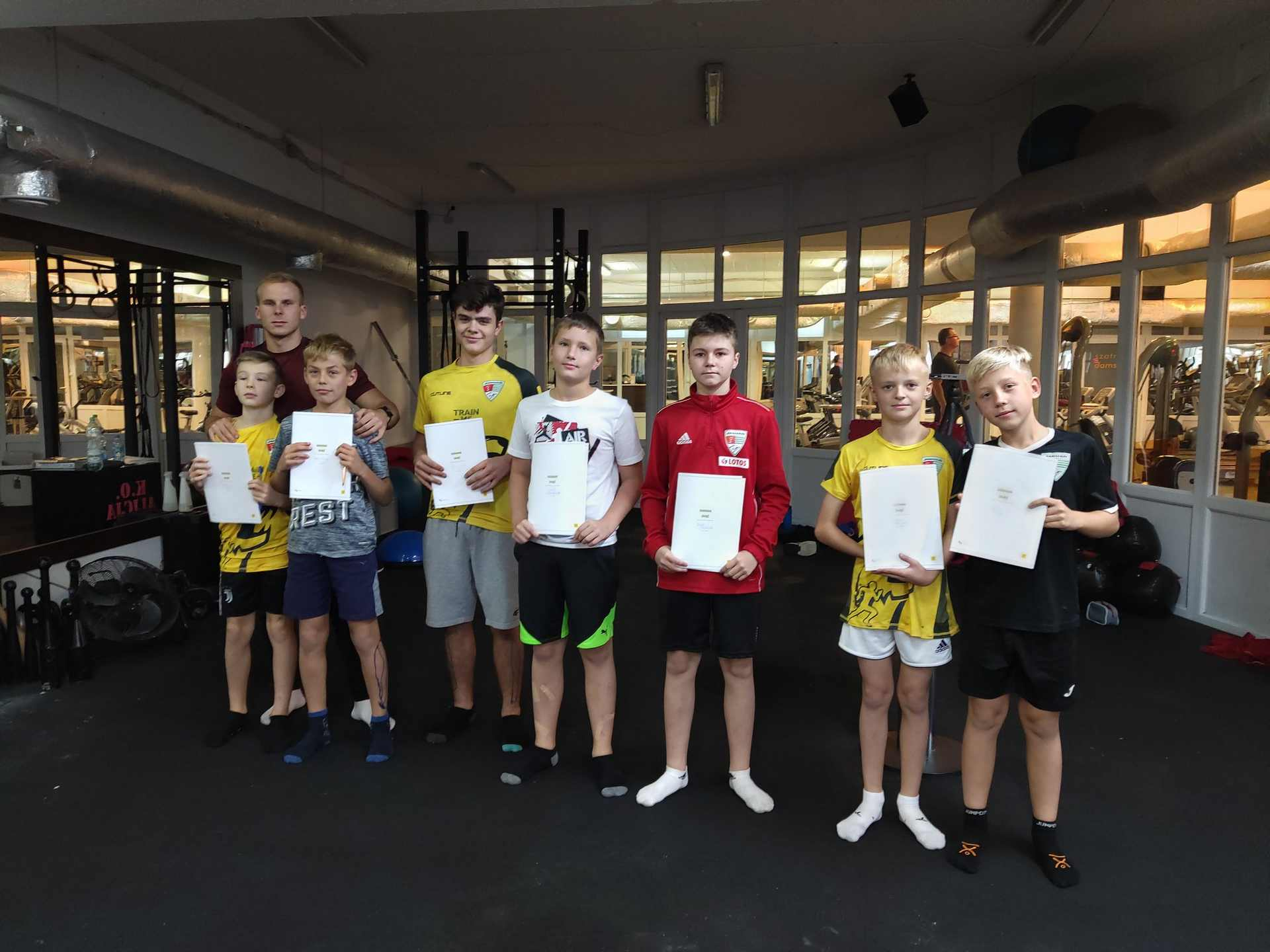 Siłownia Fitness Magnum Gdańska Jasień trening
