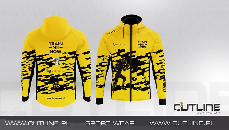 odzież sportowa bluzy do biegania TrainMeNow Cutline