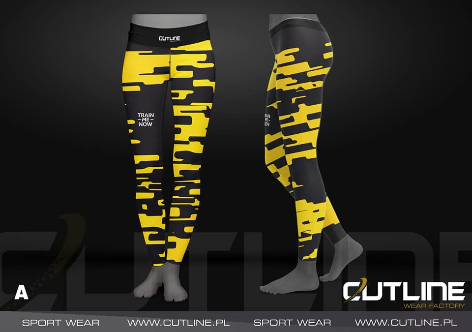 leginsy sportowe trainmenow cutline wear factory