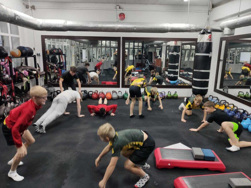 trening dla młodzieży dzieci w trójmieście