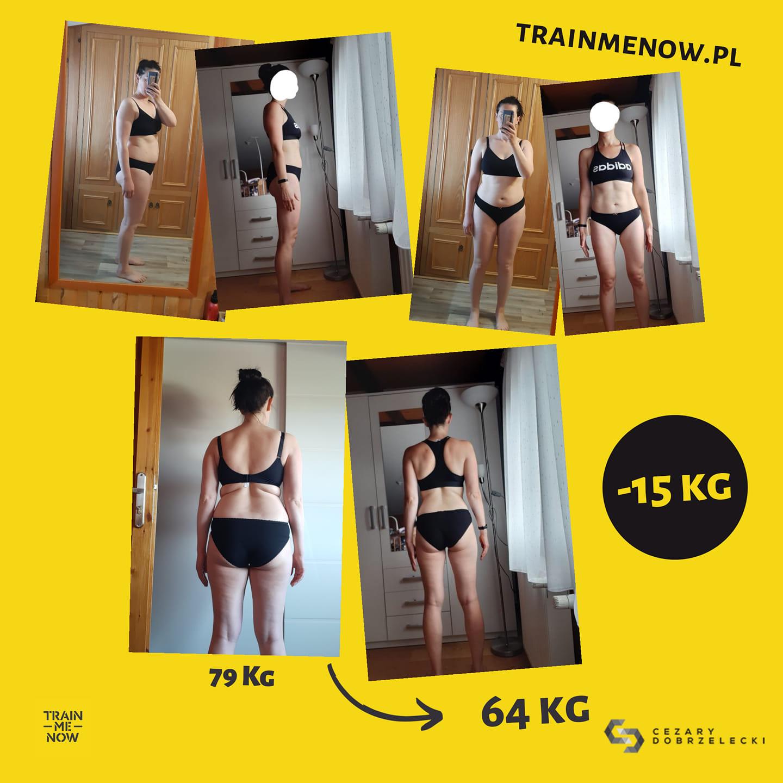 Metamorfozy sylwetki odchudzanie plan treningowy dieta indywidualna
