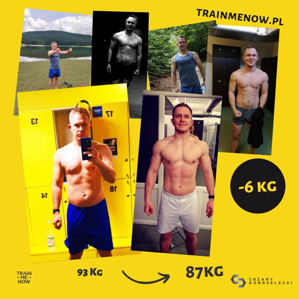Rzeźba metamorfozy sylwetki plan dietetyczny i trening na siłowni