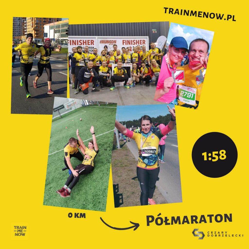 przygotowanie do maratonu z trenerem personalnym Gdańsk metamorfoza bieganie