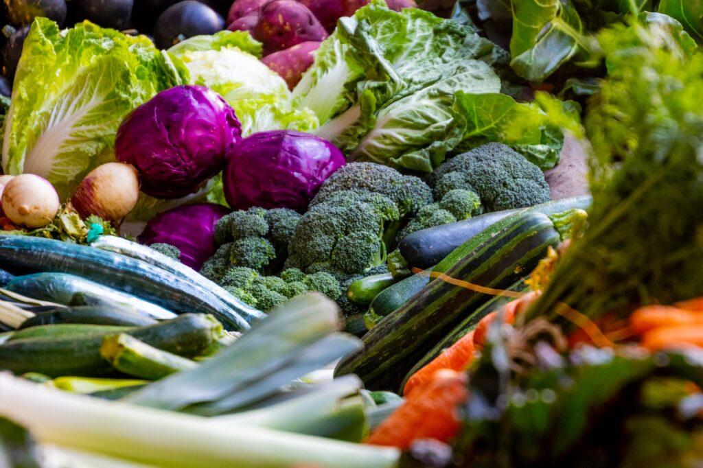 warzywa w diecie i fitnessie