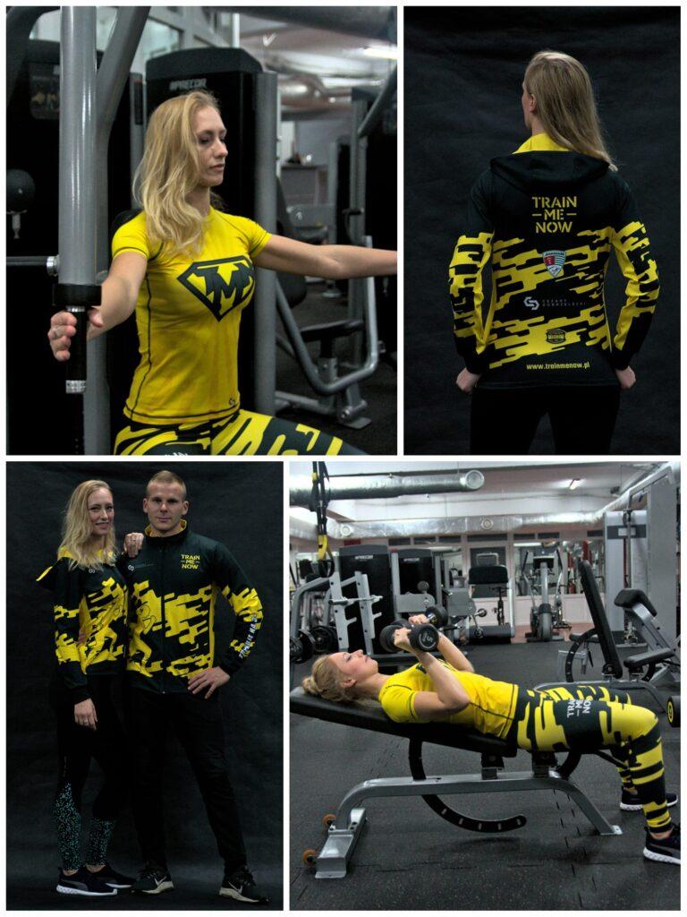 odzież sportowa do siłowni TrainMeNow nowa kolekcja