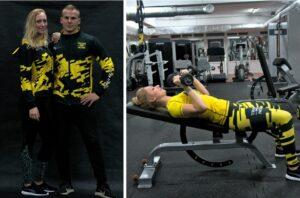 markowe ubrania na siłownię treningi