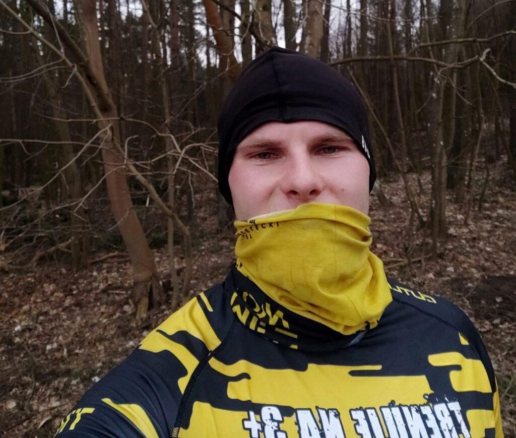 bieganie w lesie w Gdańsku