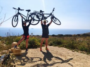 Malta Valetta wycieczka rowerowa