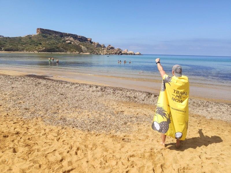 najsłynniejsze plaże na Malcie Golden Bay