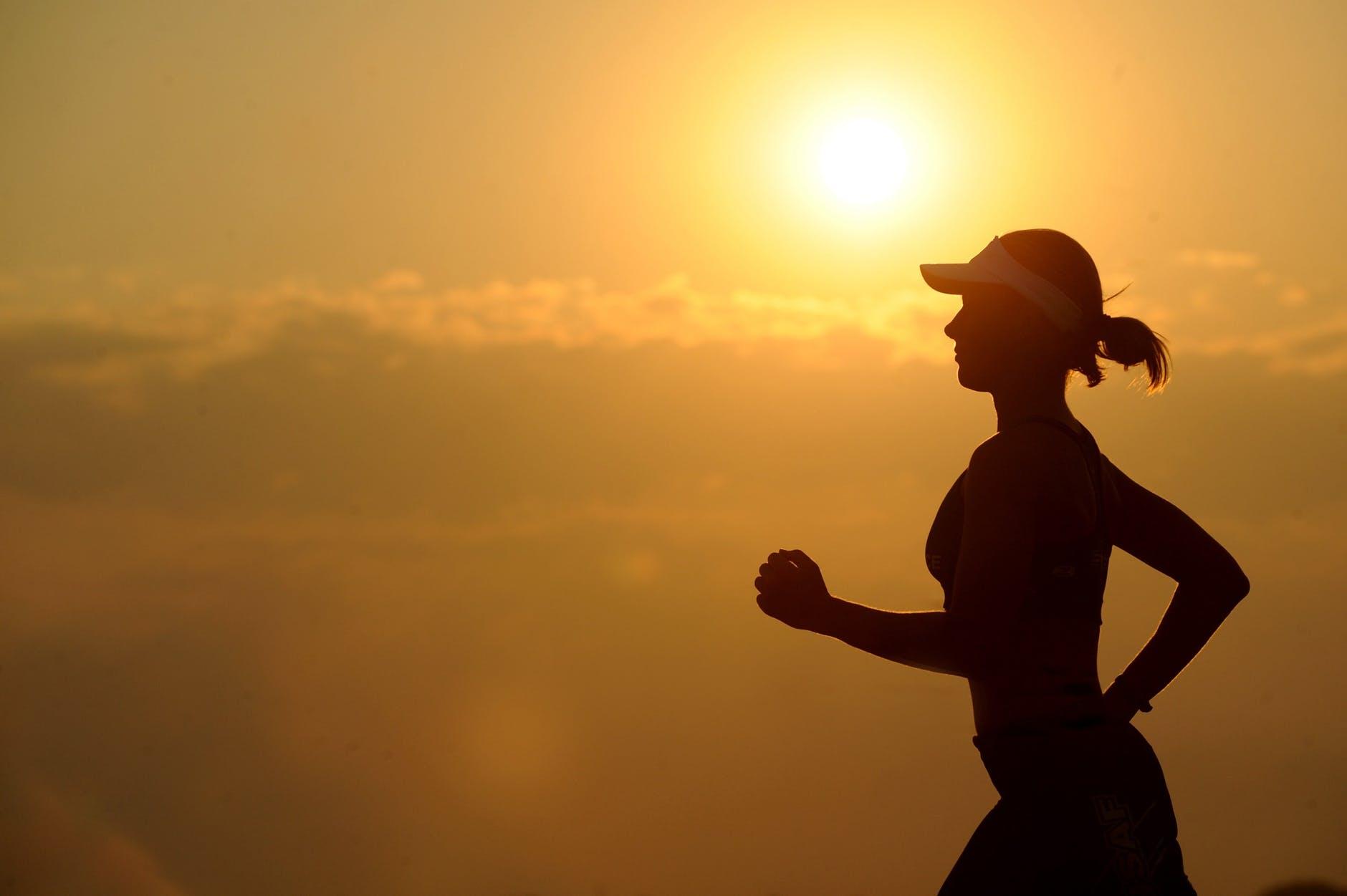 bieganie ćwiczenia brak ruchu