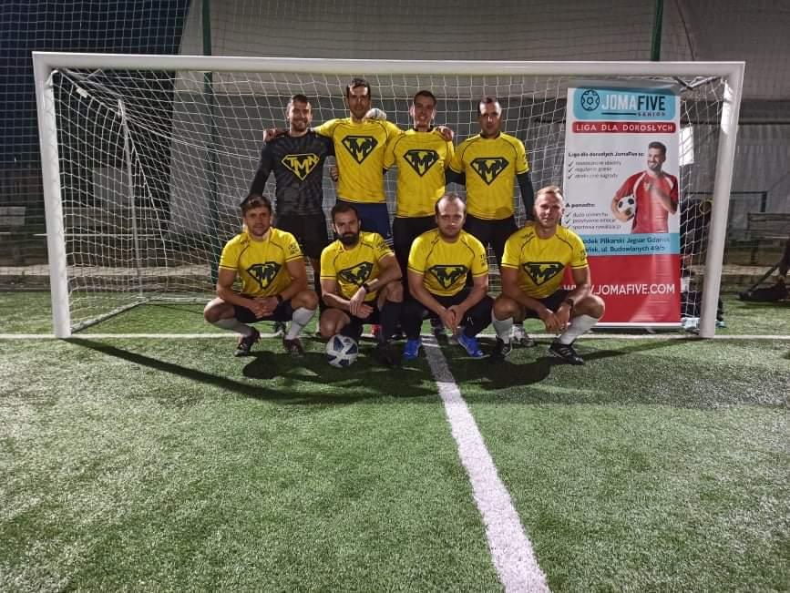 liga joma five senior w Gdańsku piłka nożna