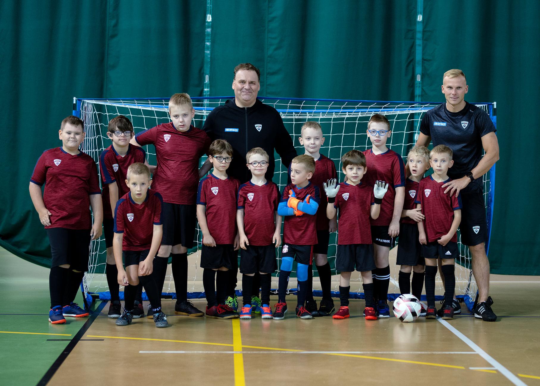 Futbol turniej piłkarski dla dzieci w Kielcach Jaguar Kids Gdańsk