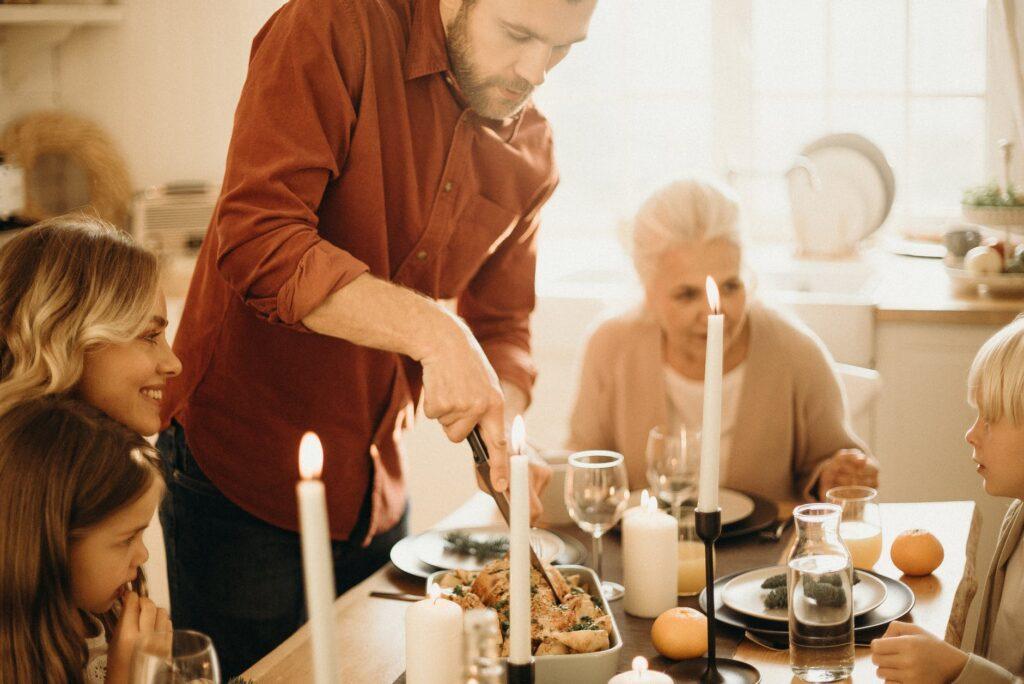 jak odmówić jedzenia na imprezie rodzinnej