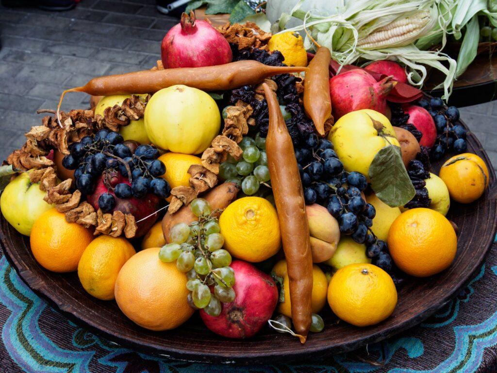 zróżnicowana dieta zdrowe warzywa i owoce